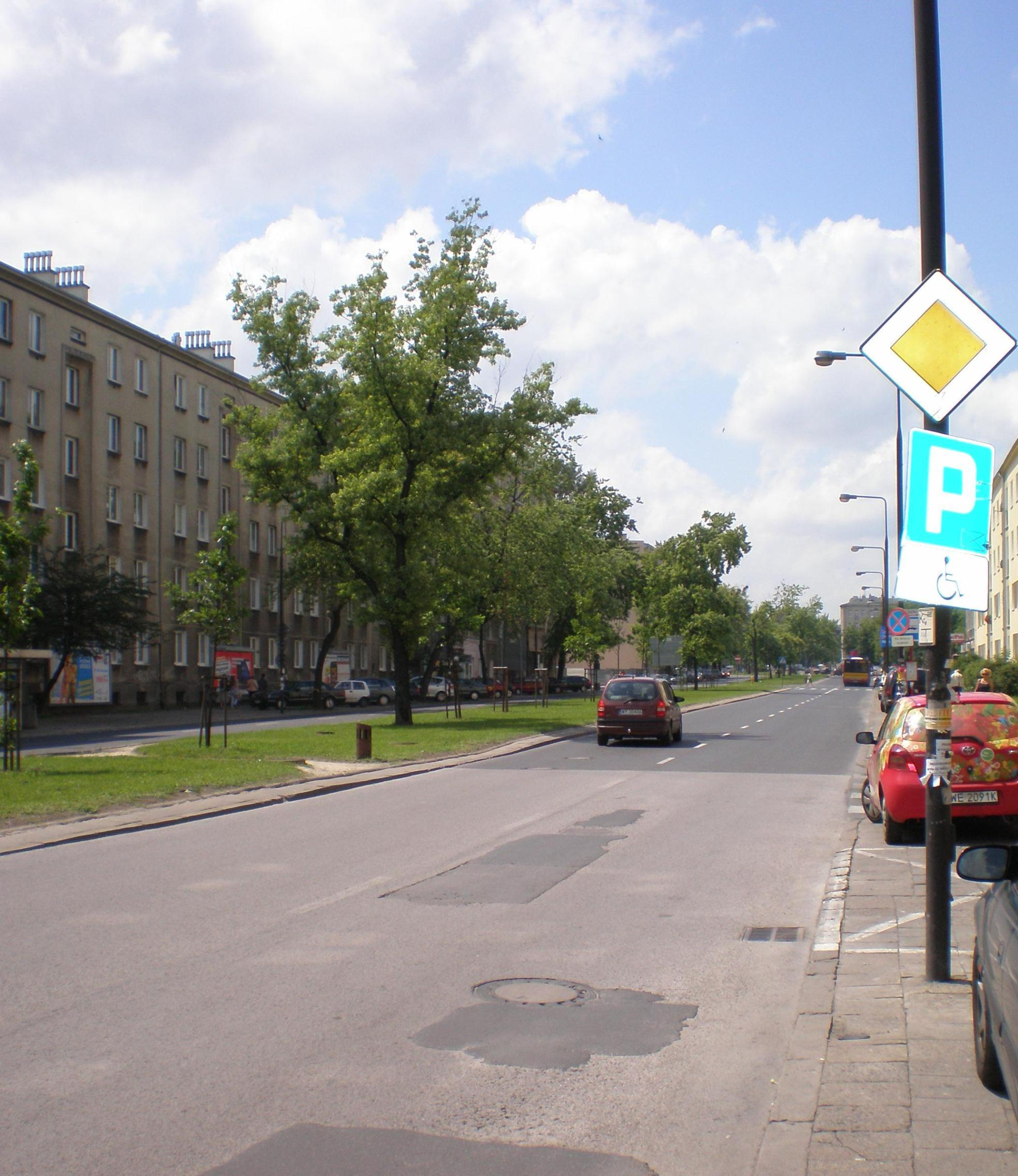 Ulica Leszno