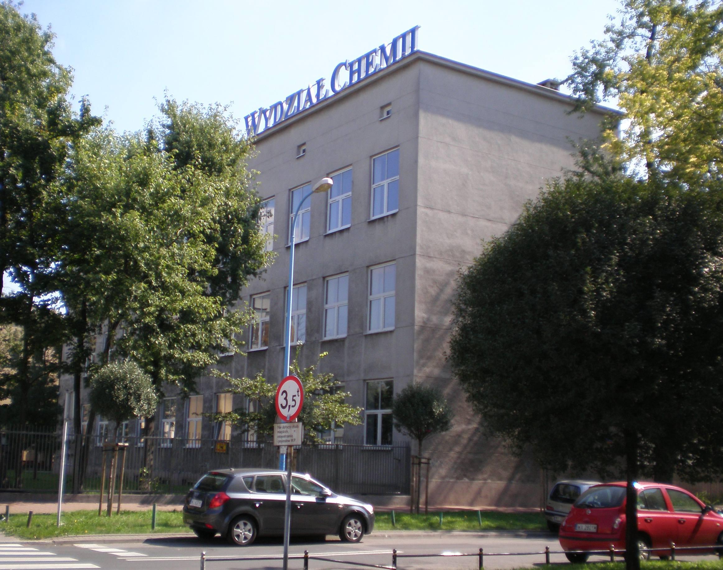 Gmach Wydziału Chemii Uniwersytetu Warszawskiego