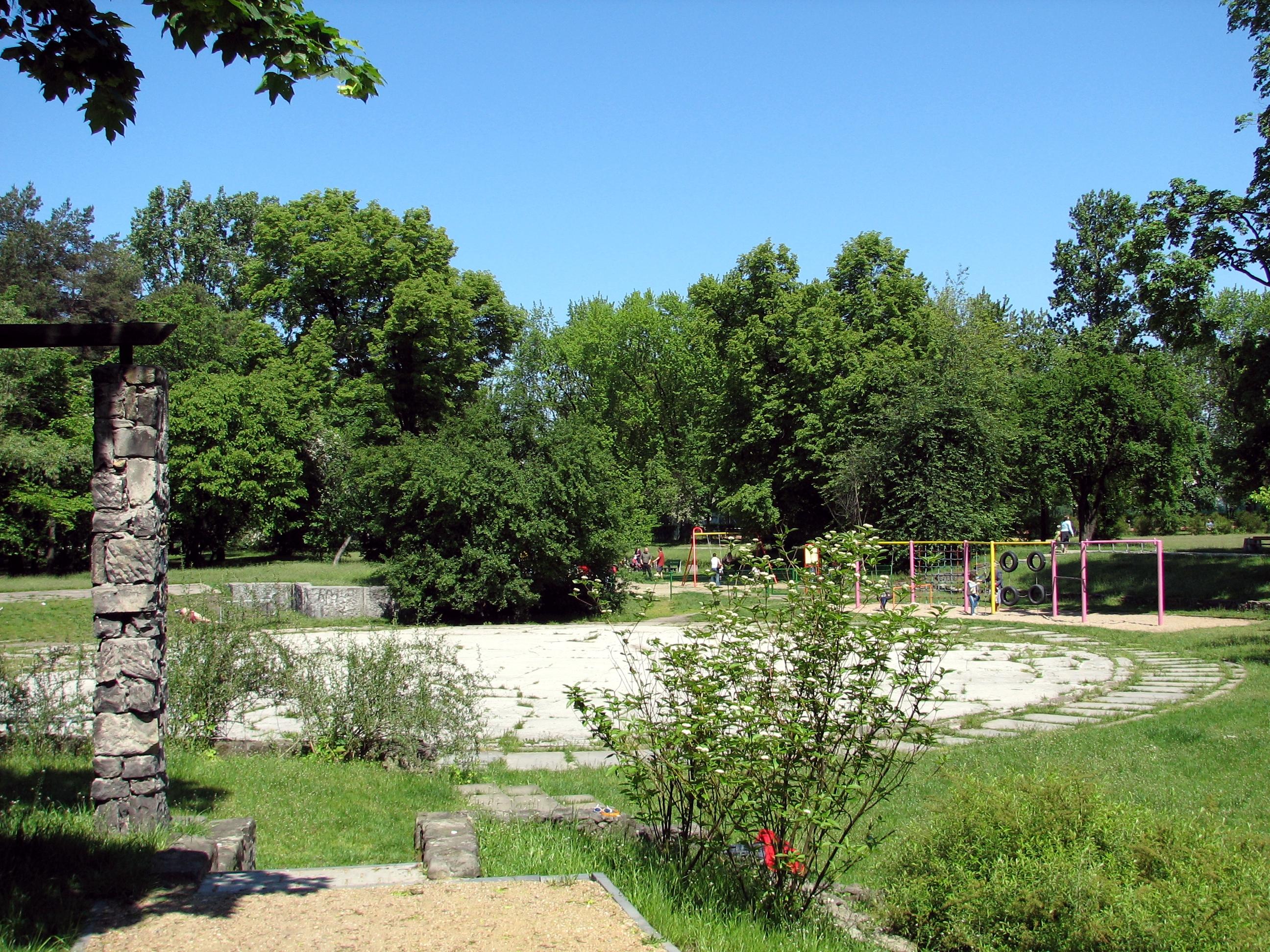 Park Jana Szypowskiego Leśnika