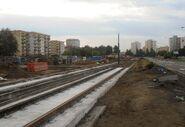 Światowida (budowa torów tramwajowych)