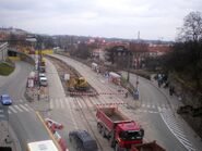 Stare Miasto (przystanek remont marzec 2009)