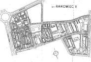 Plan osiedla Rakowiec II