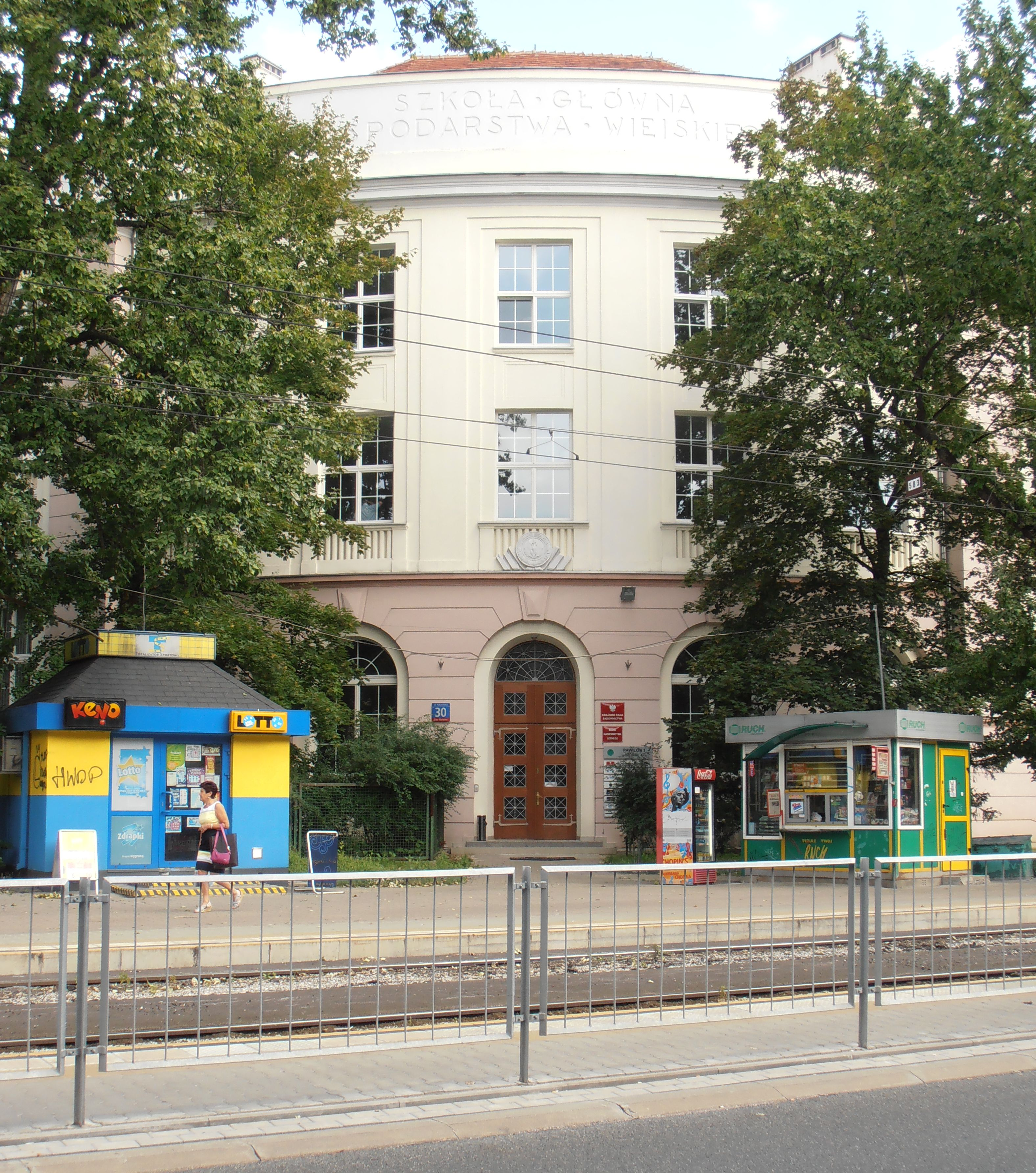 Gmach Szkoły Głównej Gospodarstwa Wiejskiego