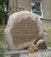 Wolska (pałacyk Michla, kamień)