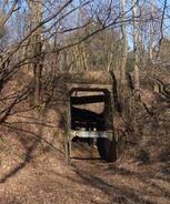 Park Leśny Bemowo (betonowy tunel)