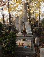 Cmentarz Powązkowski (nagrobek Alojzego Żółkowskiego)