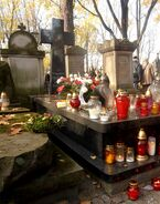 Cmentarz Powązkowski (nagrobek Z. Herberta)