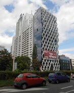Łucka (budynek nr 15, widok od Prosta)