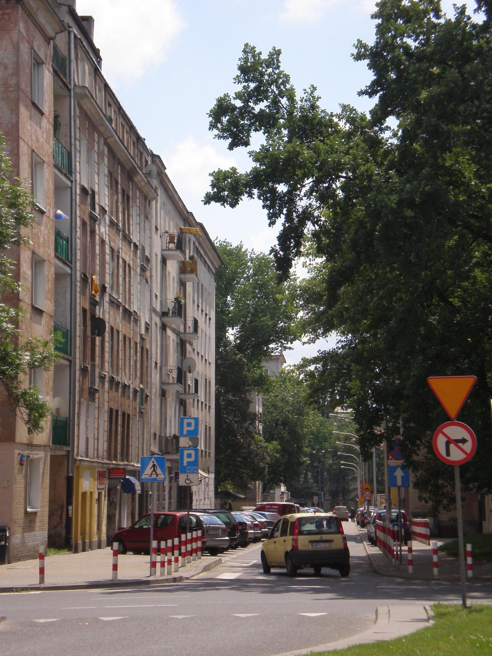 Ulica Staszica na Woli