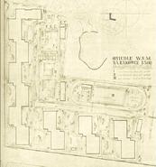 Plan budowy osiedla Rakowiec