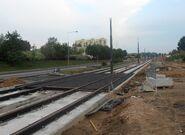Światowida (budowa torów tramwajowych) 4