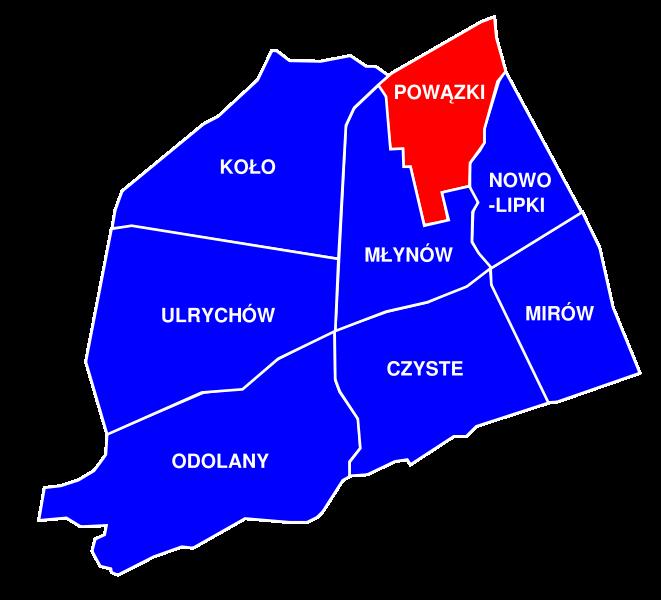 Powązki (obszar MSI)