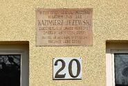 Tablica Kazimierz Jeżewski al. Wojska Polskiego 20