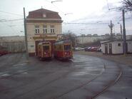 Tramwaj.e K 02 Zajezdnia Praga