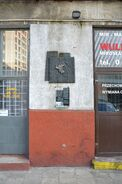 Pomnik granic getta Chłodna 41