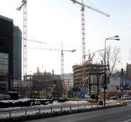 Warsaw Spire budowa 4