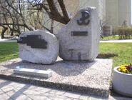 Kasprowicza, Szekspira (kamień pamiątkowy)