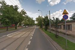 Ulica Ratuszowa rejon ul. Targowej i Kameralnej