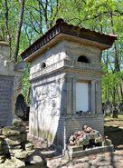 Grobowiec Bera Sonnenberga na Cmentarzu Żydowskim na Woli