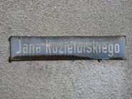 Kozietulskiego (tabliczka)
