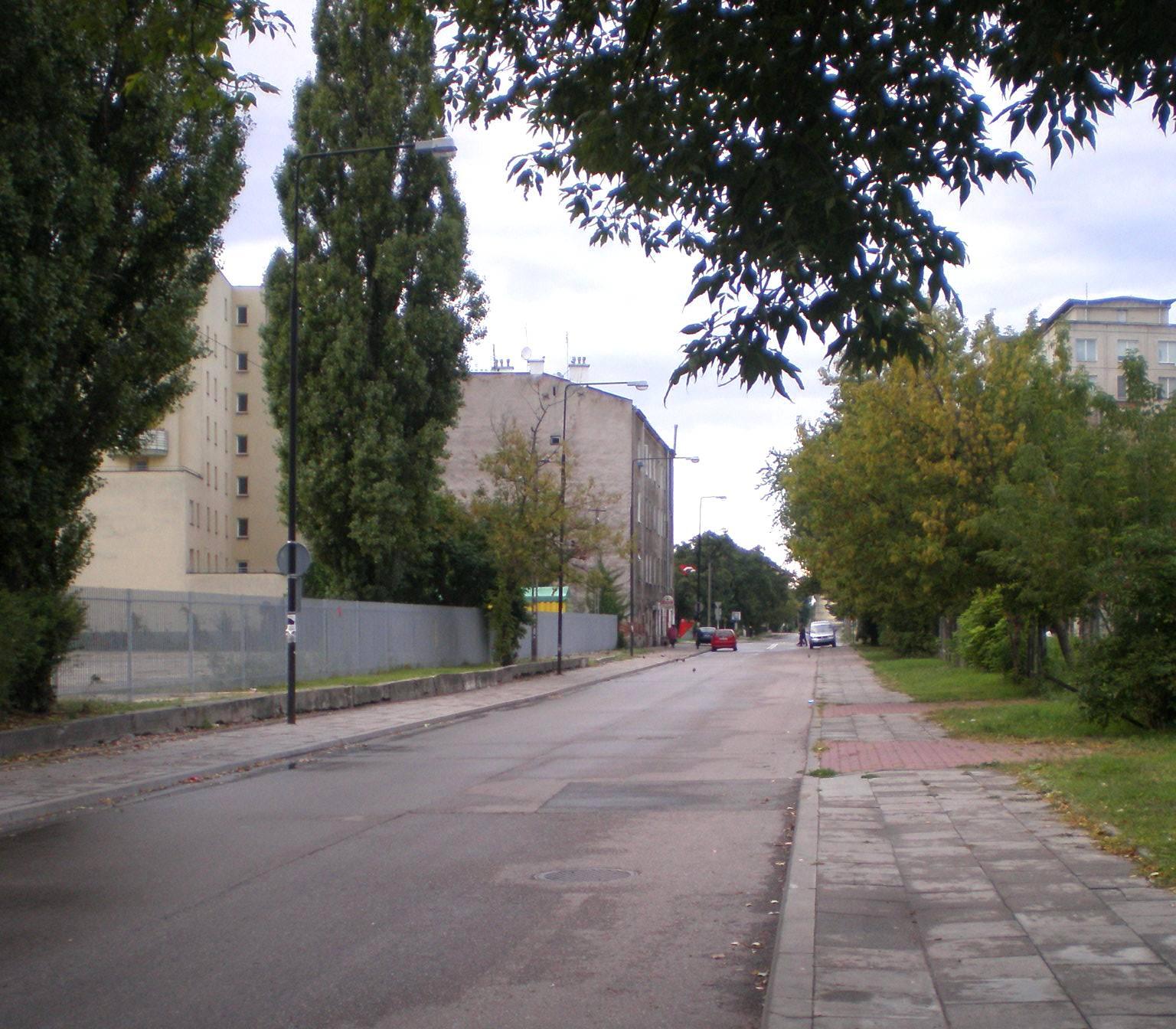 Ulica Chodakowska