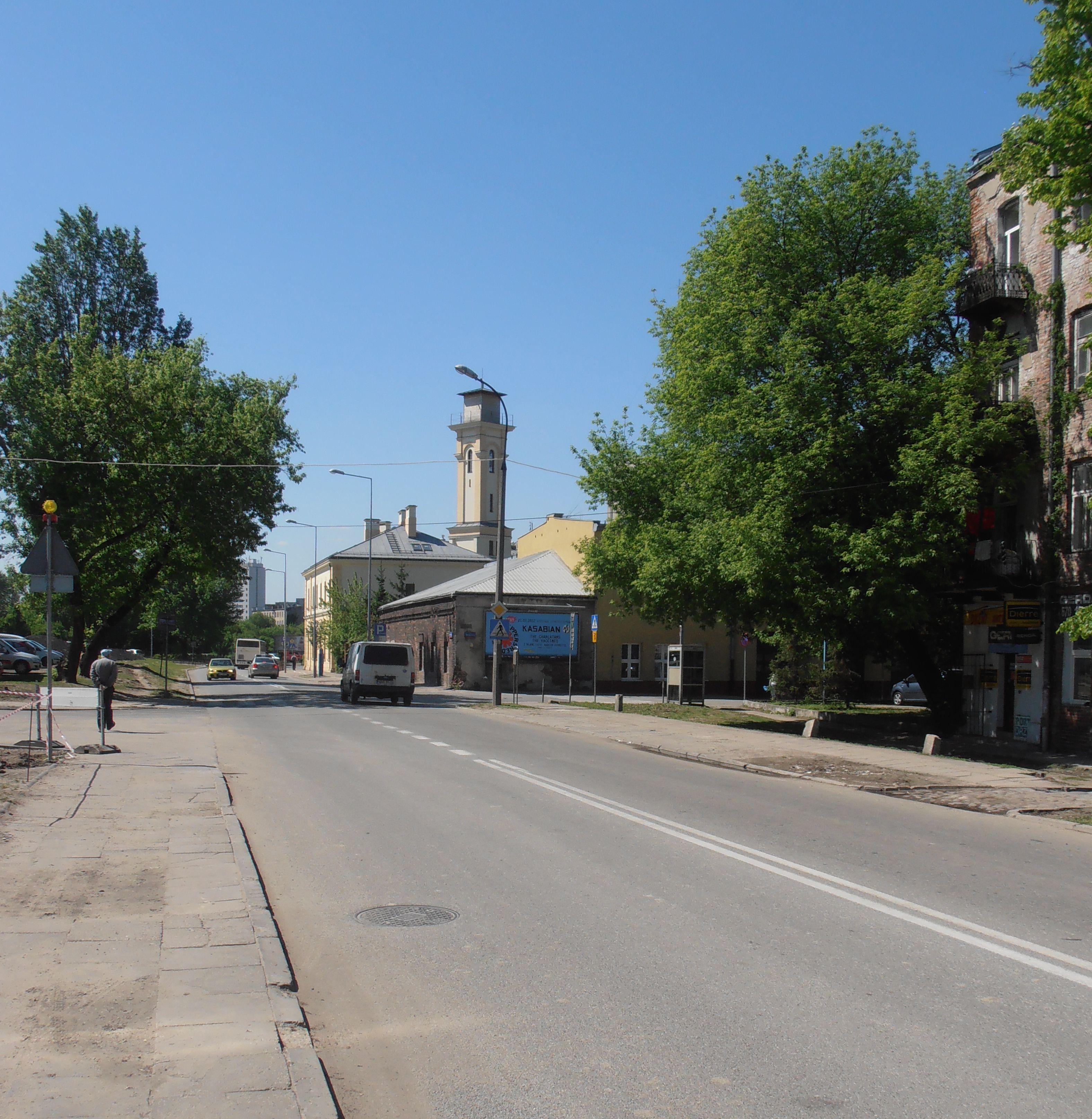 Ulica Zamoyskiego