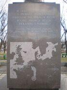 Pomnik 1 Dywizji Pancernej (strona zachodnia)