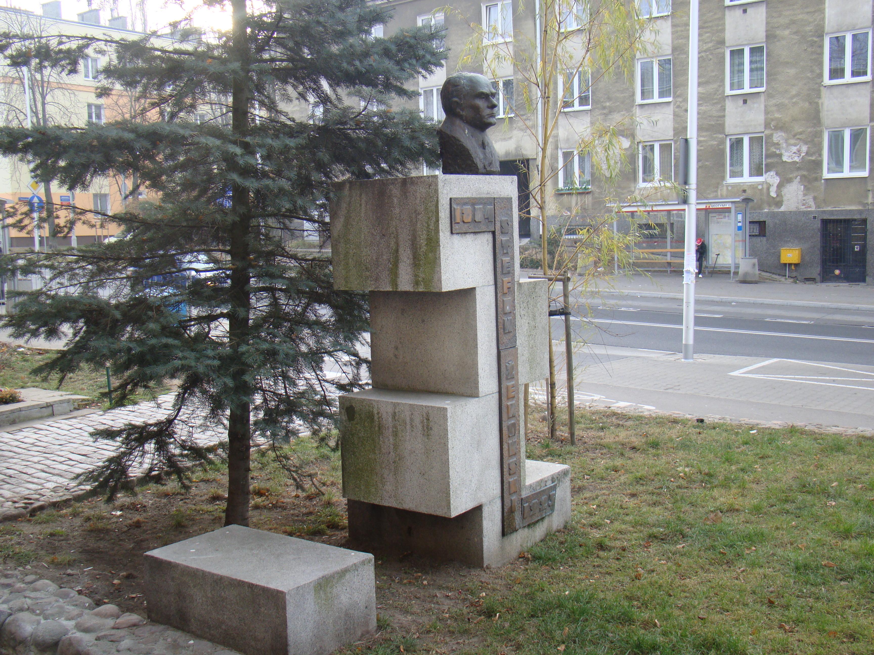 Pomnik Stefana Żeromskiego na Kole