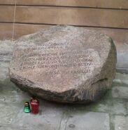 Zakroczymska (kamień pamiątkowy)