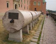 Kolumna Zygmunta (obalone kolumny)