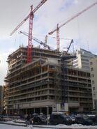 Złota 44 (budowa, luty 2009) 2