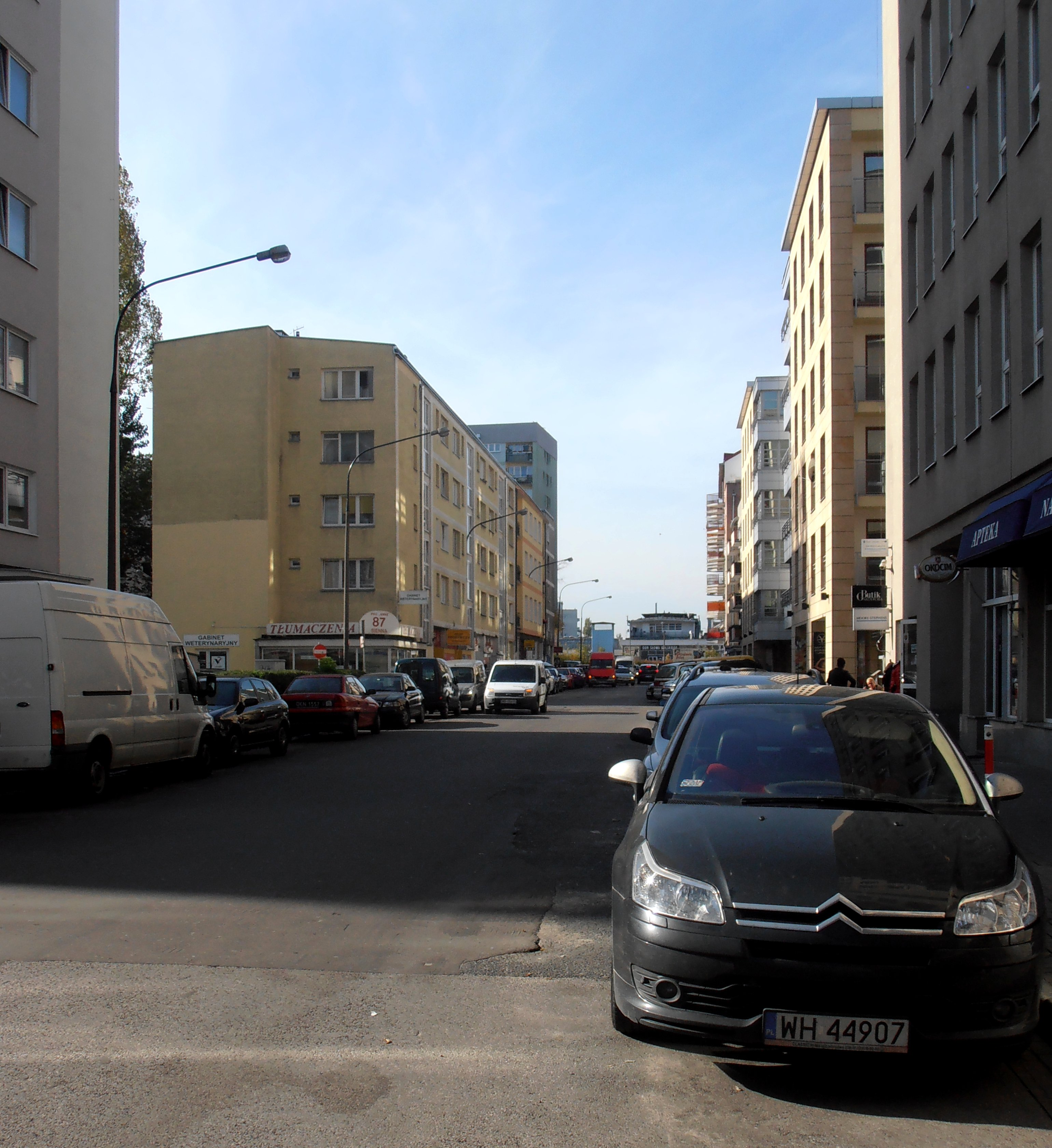 Ulica Sienna