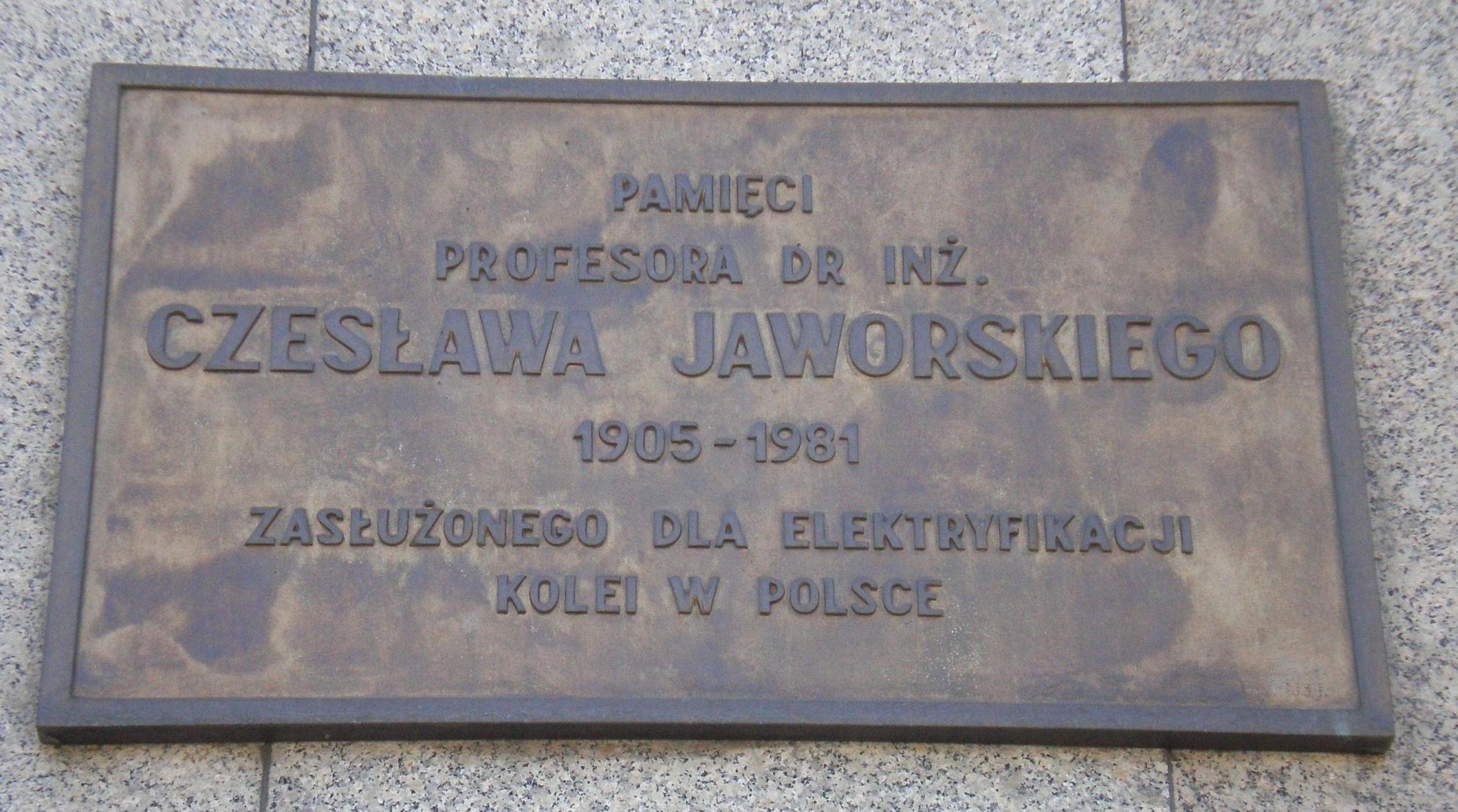 Czesław Jaworski (inżynier)