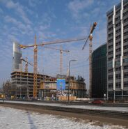 Warsaw Spire budowa 3