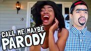 Carly Rae Jepsen CALL ME MAYBE - Rolanda & Richard (Parody)
