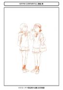 WataMote Volume 20 Extra Content Nori-Maki