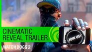 Watch Dogs 2 Trailer Cinematic Reveal - E3 2016 US