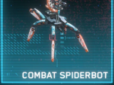 Combat Spiderbot