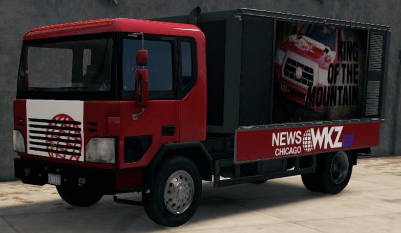 WKZ-TV Truck