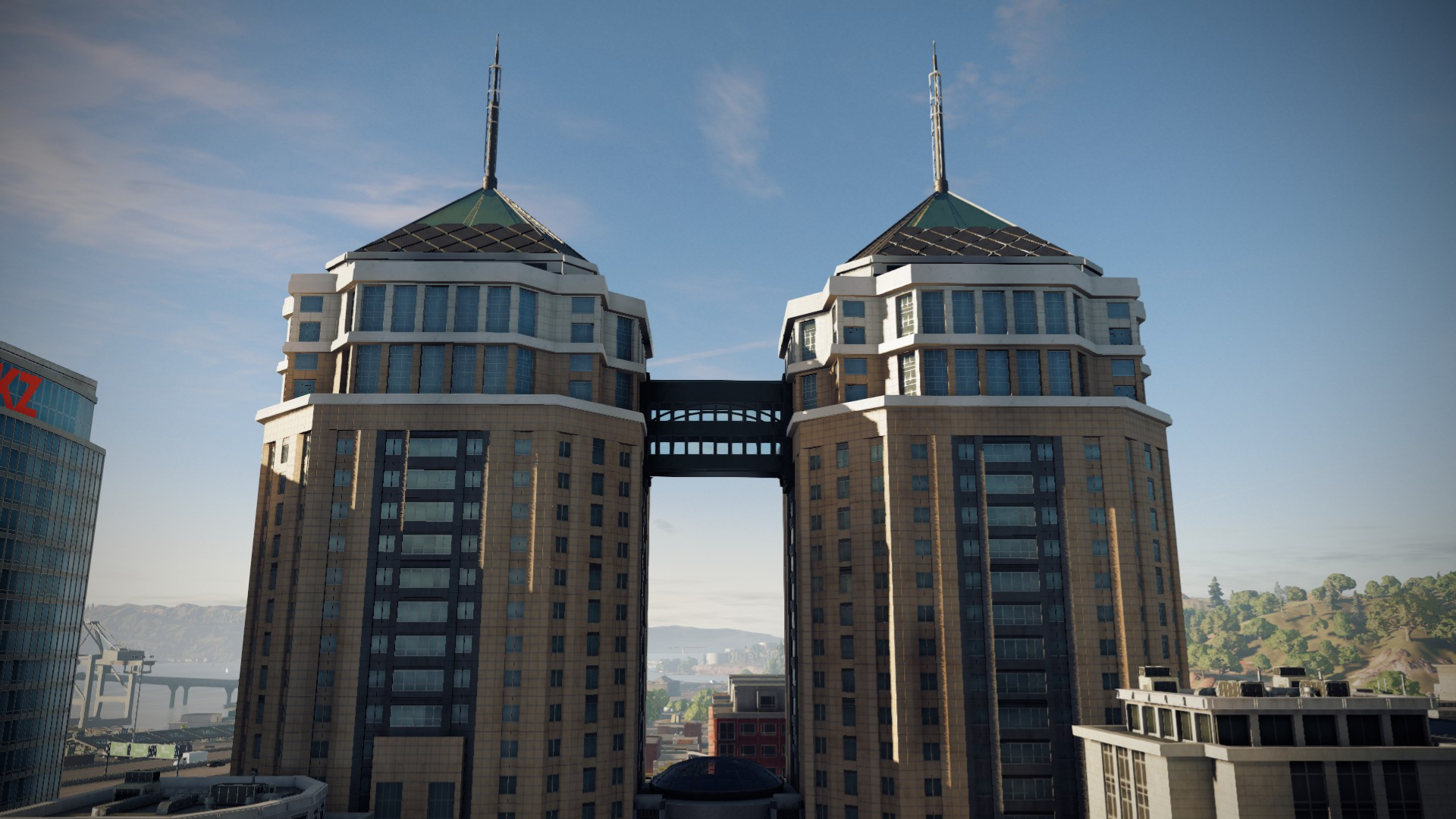 Dellums Towers
