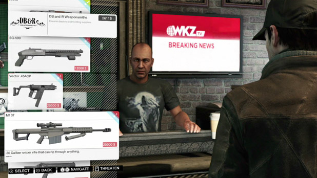Beta features in Watch Dogs