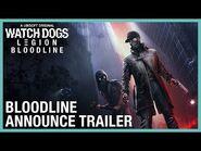 Watch Dogs- Legion- Bloodline DLC Announce Trailer - -UbiForward - Ubisoft -NA-