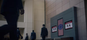 Wanted posters in S 1 E 3