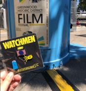 Watchmen HBO TV Series Exclusive Pins at 2019 SDCC