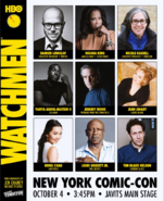 HBO Watchmen Panel at 2019 NY Comic Con