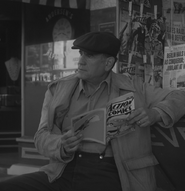 Old Man reading Action Comics Issue No. 1 in S1 E 6
