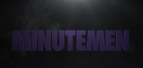 Watchmen logo changes to Minutemen Logo in S 1 E 6