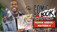 Yahya Abdul-Mateen II Talks That Epic Watchmen Reveal and Goes Comic Book Shopping