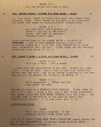 Script for ending scene from She Was Killed By Space Junk