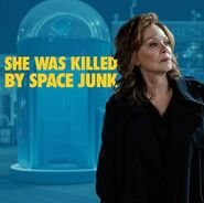 She Was Killed By Space Junk Title Card ft Laurie